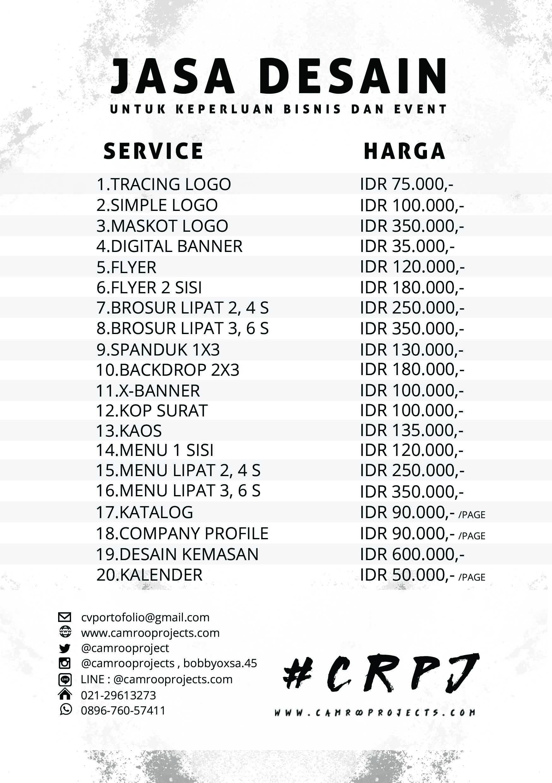 Harga Desain Logo Berkualitas Di Bekasi – Camroo Projects