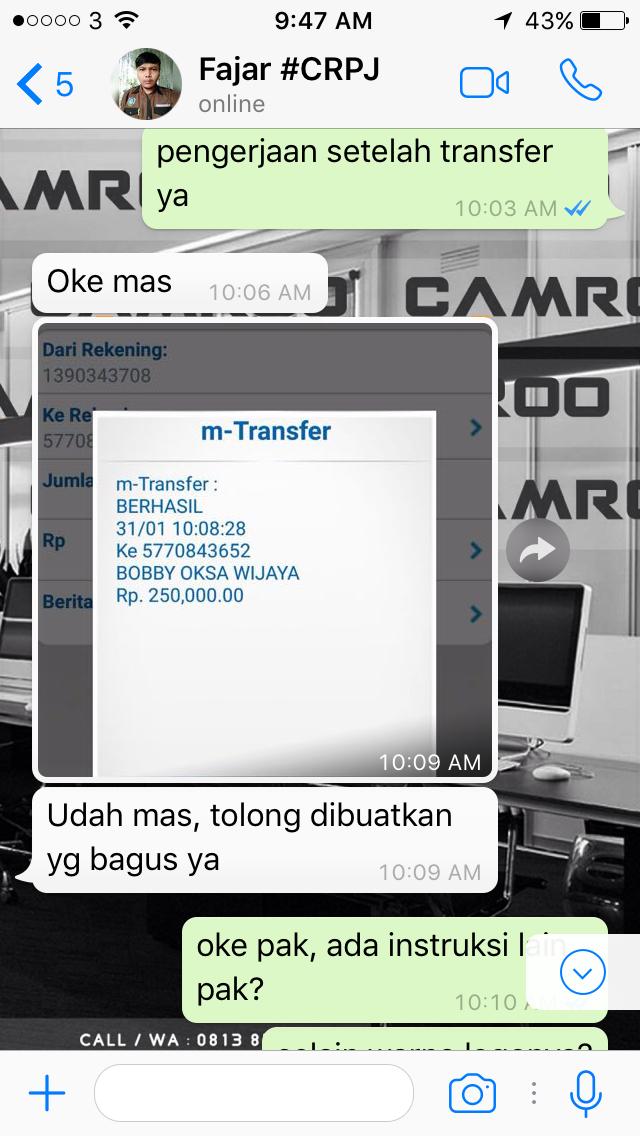 Jasa Desain Kartu Nama Simple Di Jakarta