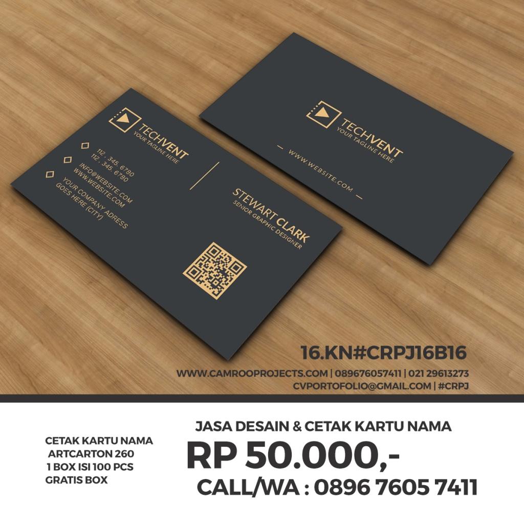 Jasa Desain Kartu Nama   Call/WA 0896 760 574 11