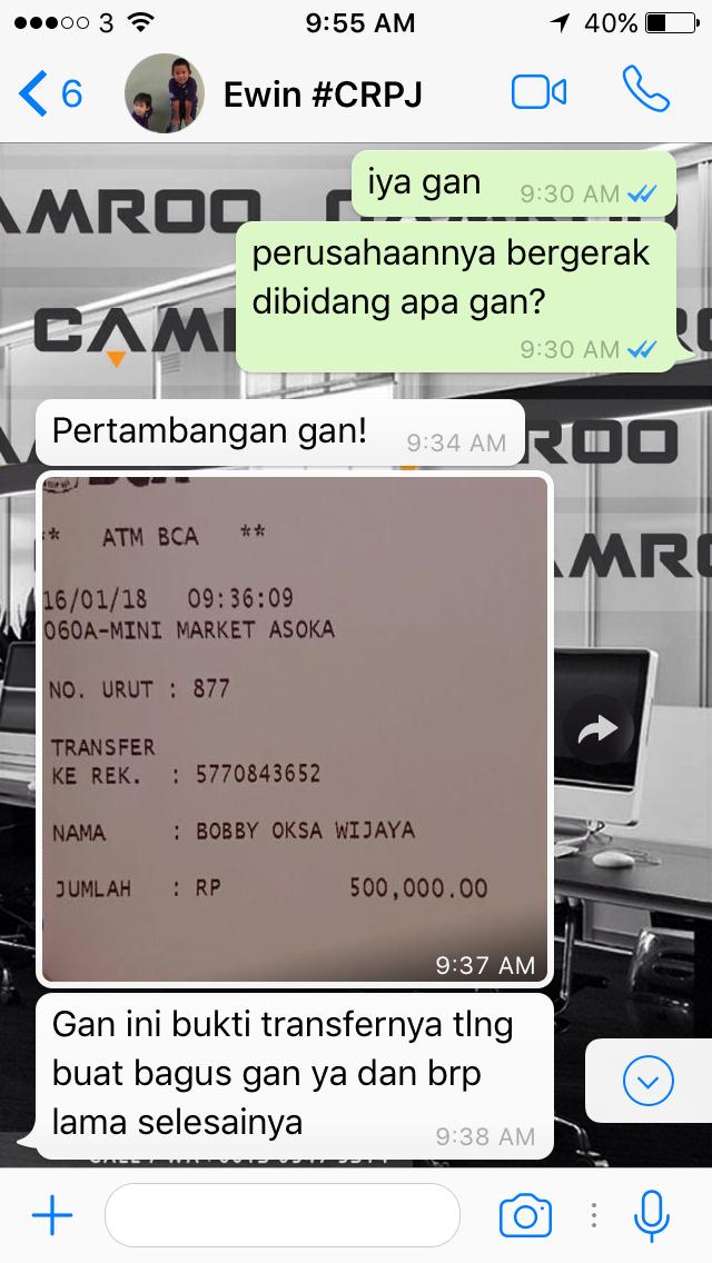 Jasa Desain Kartu Nama bagus di Bekasi