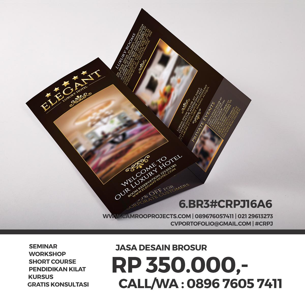 Jasa Desain Brosur/Flyer Di Depok