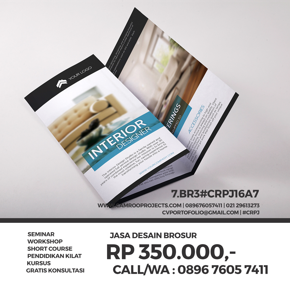 Jasa Desain Flyer | Call/WA 0896 760 574 11