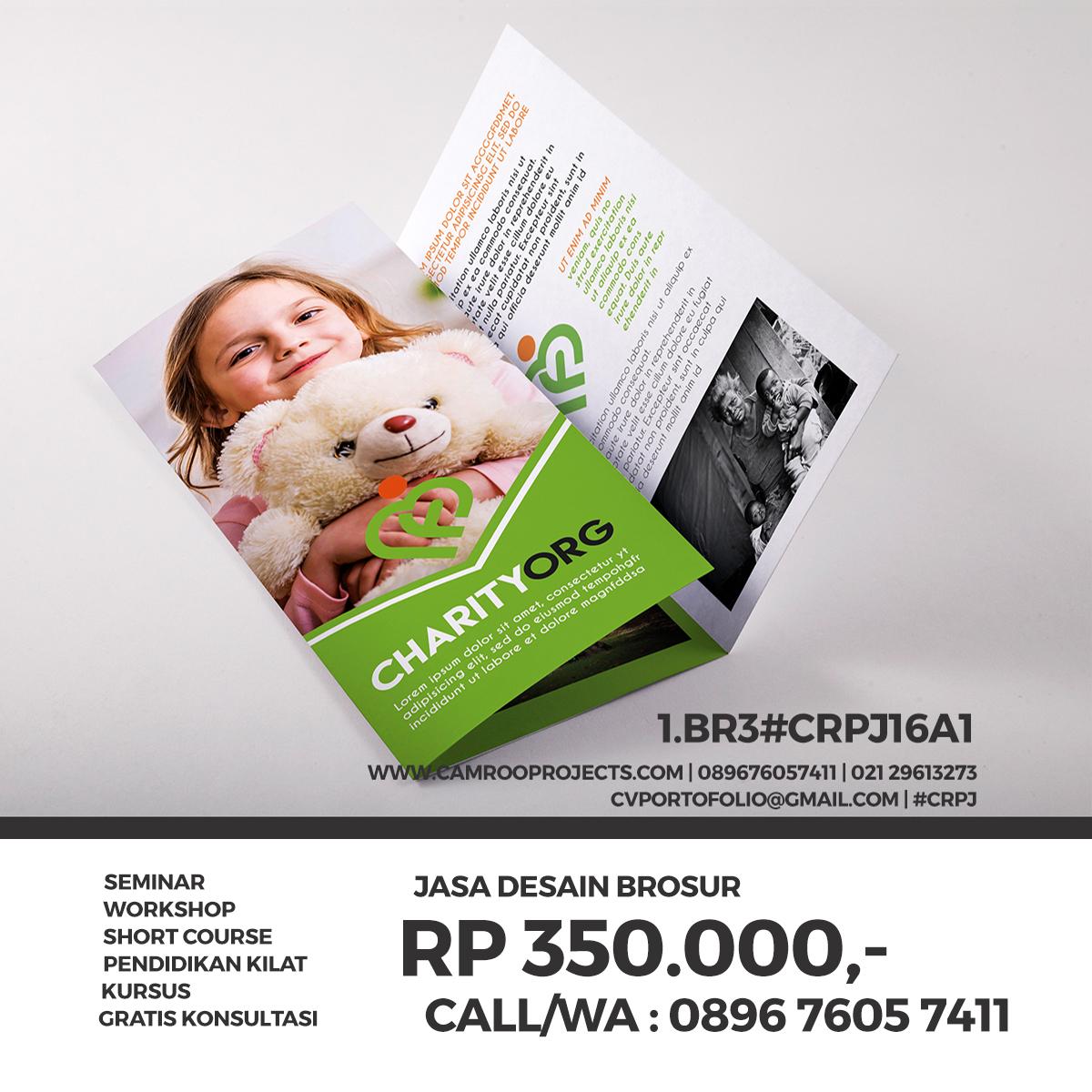 Jasa Desain Brosur/Flyer Di Jakarta