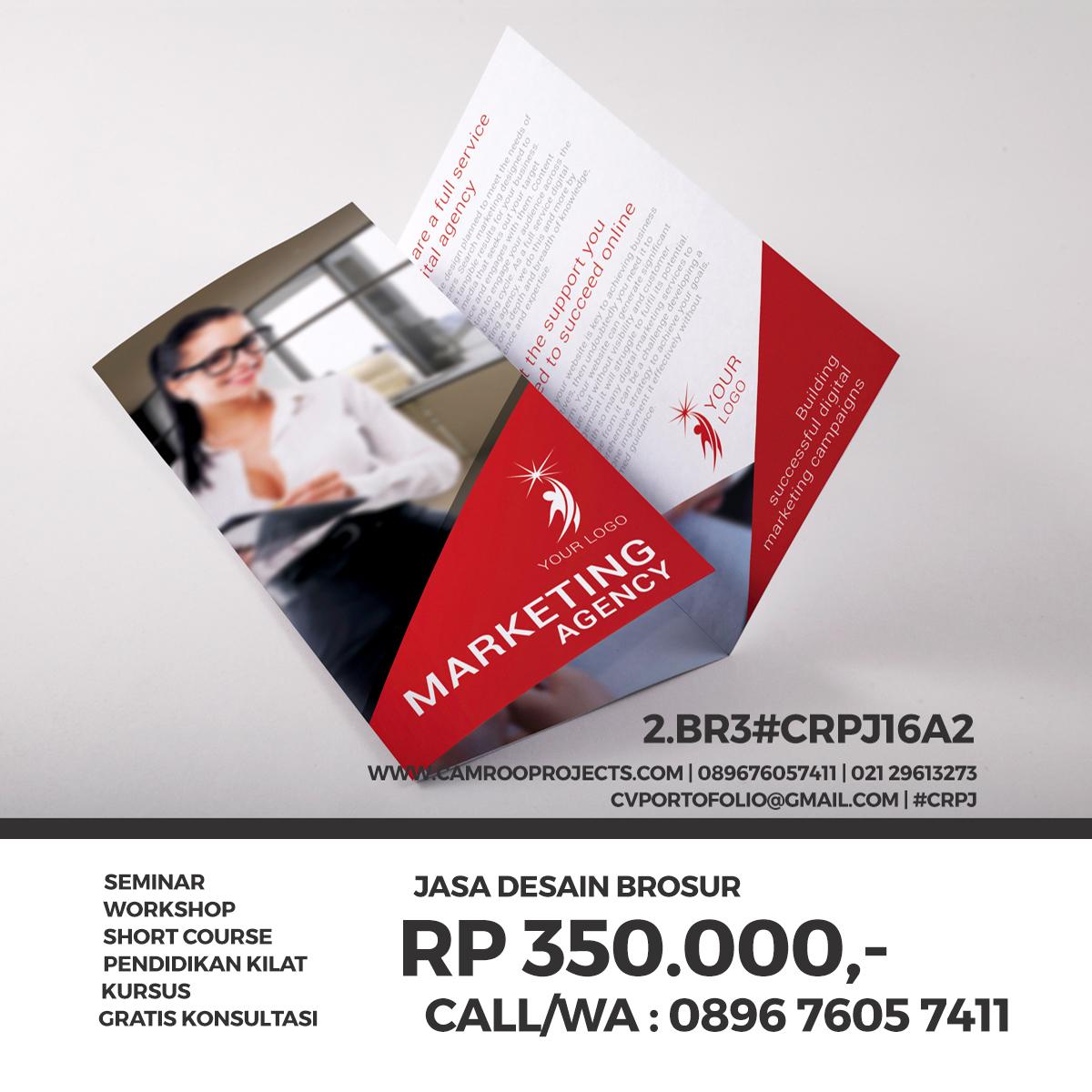 Jasa Desain Brosur/Flyer Di Bogor