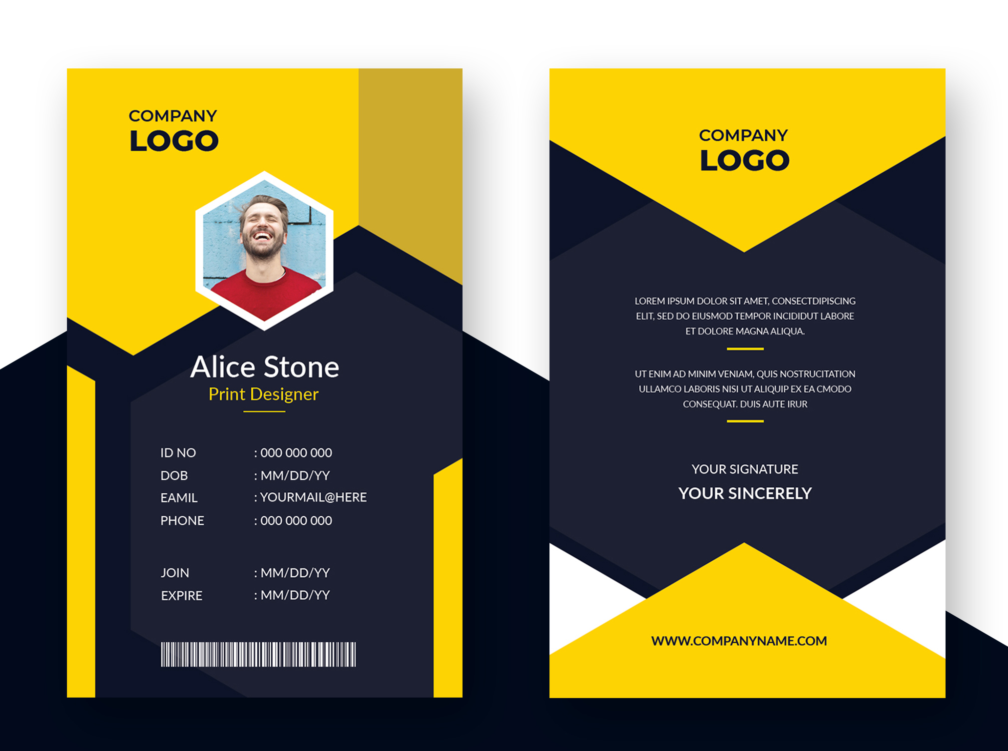 Id Card Camroo Projects