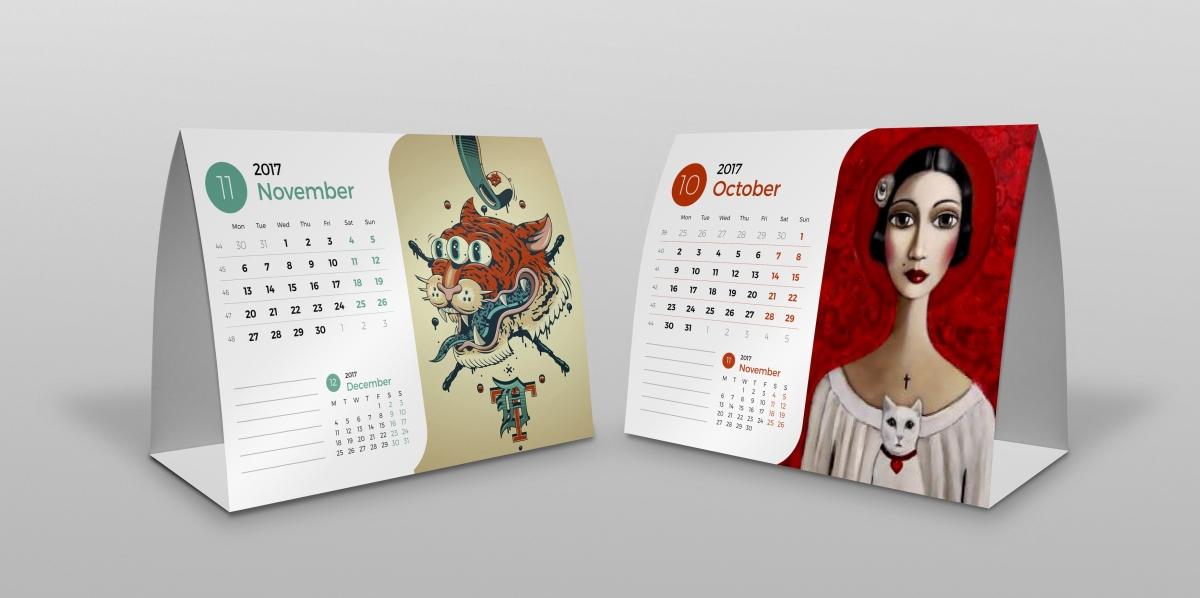 Jasa Desain Kalendar di Bekasi Selatan